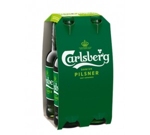 Alus CARLSBERG, 5%, but., 4x500 ml
