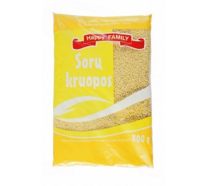 Sorų kruopos HAPPY FAMILY, 800 g