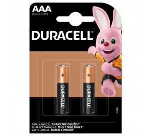 Baterijos DURACELL, AAA, LR03, 2 vnt.
