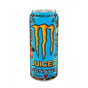 Energinis gėrimas MONSTER JUICED MANGO LOCO, 500 ml